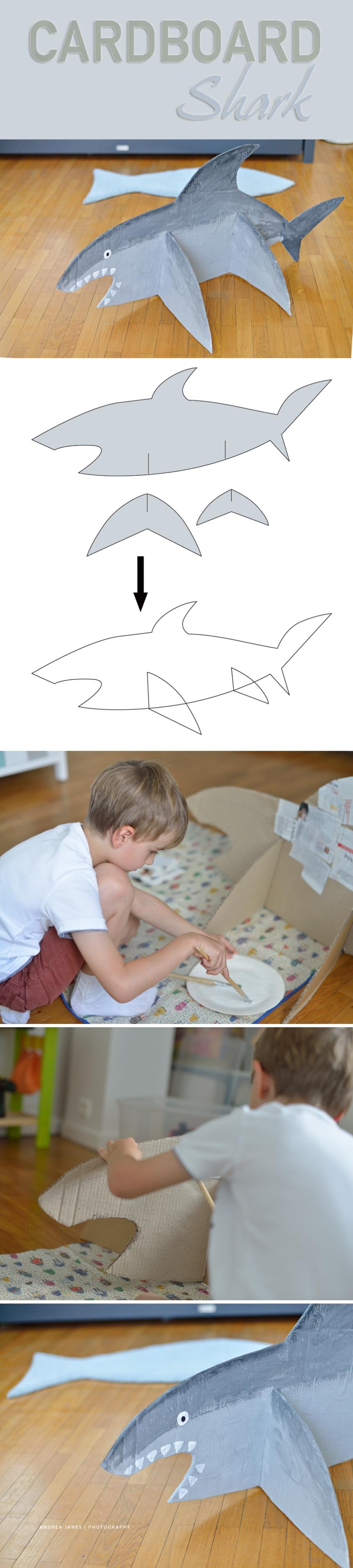 Cardboard-Shark